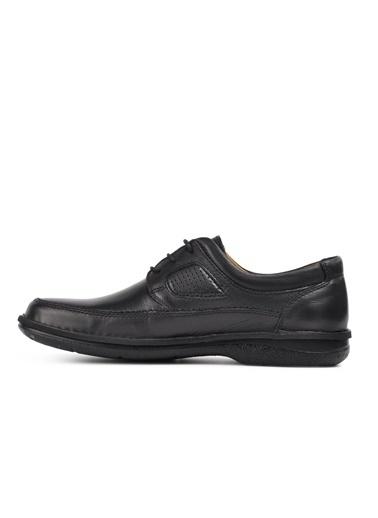 Dr.Flexer 816613 Siyah Hakiki Deri Erkek Günlük Ayakkabı Siyah